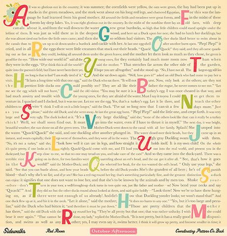 """Лист двусторонней бумаги Red Rover из коллекции """"Acid & Lignin Free"""""""