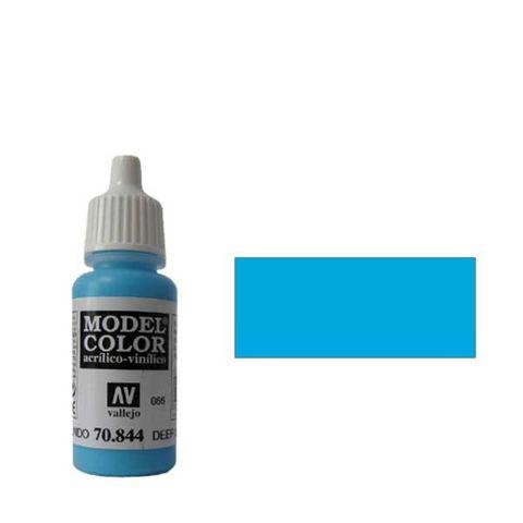 066. Краска Model Color Небесно-Голубой Темный 844 (Deep Sky Blue) укрывистый, 17мл