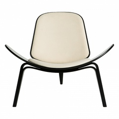 кресло shell ( кожа )