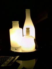 лампа  bottels lamp by JoL