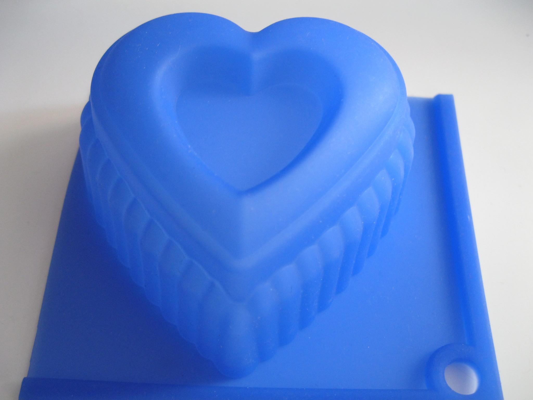 Сердце силиконовая форма