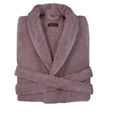Элитный халат махровый Downtown розовый от Casual Avenue