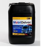 Mobil Delvac Super 1400E 15W-40  моторное масло для дизельных двигателей
