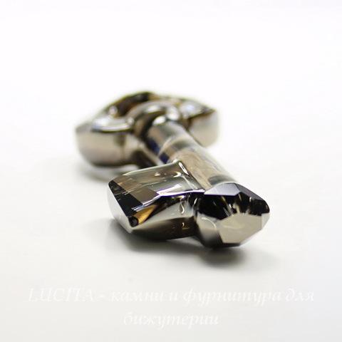 6919 Подвеска Сваровски Ключик Crystal Silver Night (50 мм) ()
