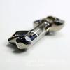 6919 Подвеска Сваровски Ключик Crystal Silver Night (50 мм)