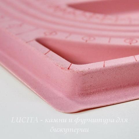 Планшет для сборки украшений, цвет - розовый, 33х24 см