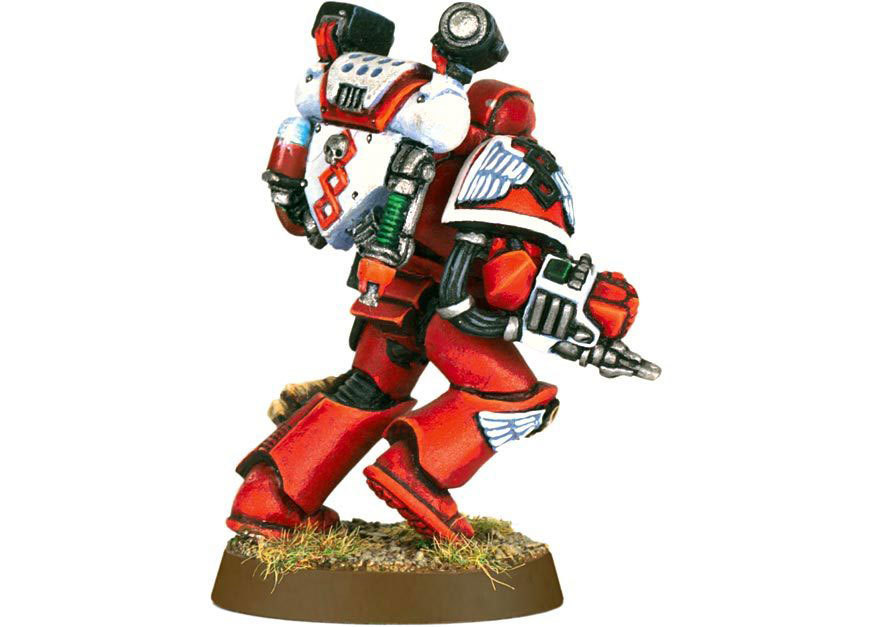 Blood Angels Sanguinary Priest (старая версия)