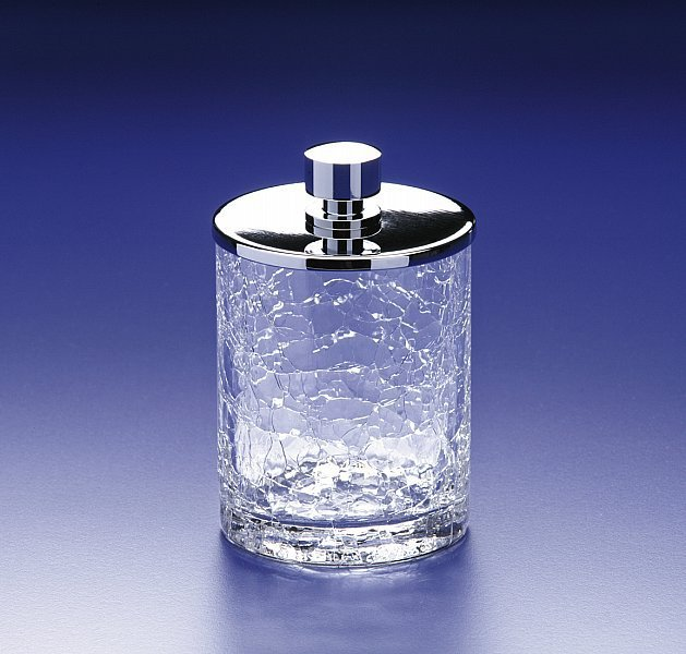 Для косметики Емкость для косметики малая 88124CR Cracked Crystal от Windisch banochka-malaya-88124-cracked-crystal-ot-windisch-ispaniya.jpg