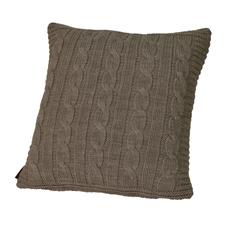 Элитная подушка декоративная Boston коричневая от Casual Avenue