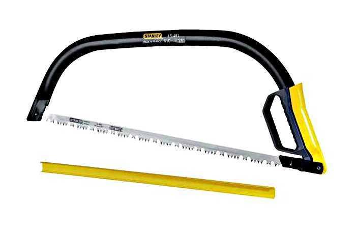Пила лучковая   530мм Pro Fleam Tooth Stanley 1-15-449
