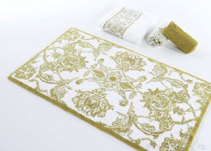 Элитный коврик для ванной Giverny 208 зеленый от Abyss & Habidecor