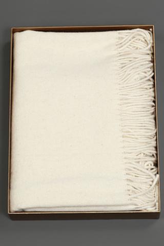 Элитный плед Galata слоновой кости от Hamam