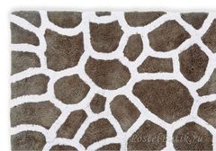 Коврик для ванной 50х80 Mirabello Stones бежевый