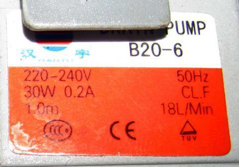 Оригинальный сливной насос для стиральной машины samsung DC31-00030A, см. 63AB912