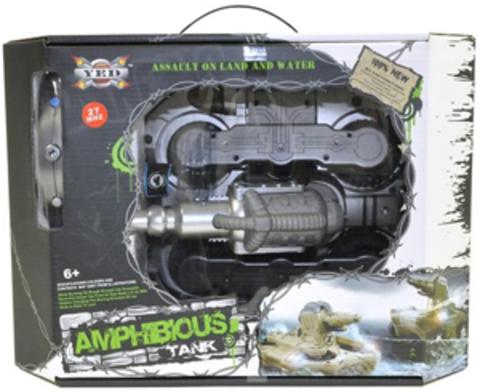 Радиоуправляемый танк-амфибия YED Amphibious Tank (код: 24883)