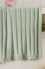 Плед детский 75х100 Luxberry Imperio 93 зелёный