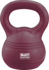 Гиря обрезиненная BODY SCULPTURE BW-110-16, вес 16кг