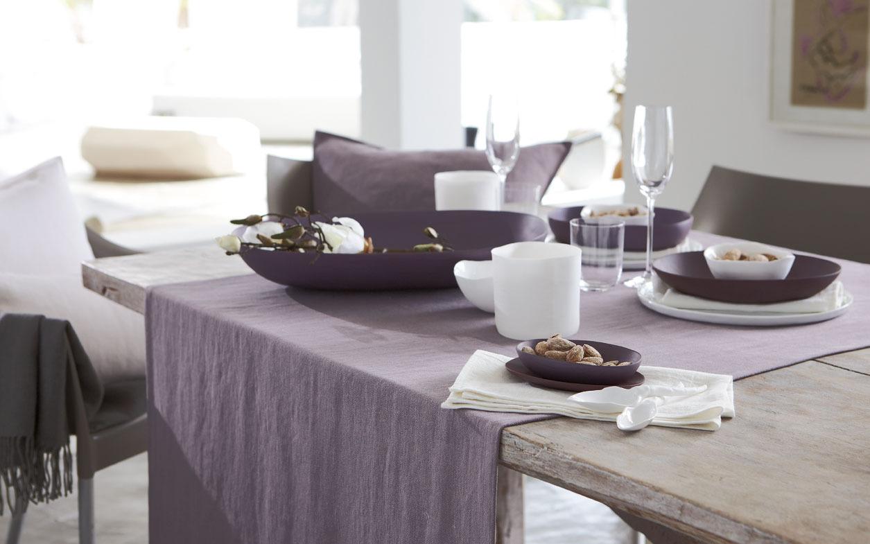Дорожки на стол Дорожка на стол 42х160 Proflax Boda серая elitnaya-dorozhka-boda-taupe-ot-proflax-germaniya.jpg