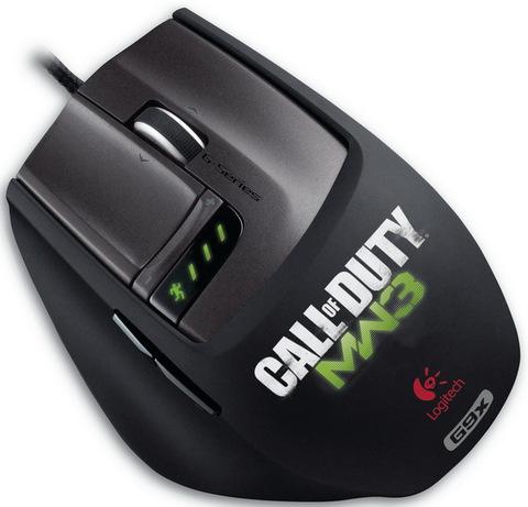 Мышка LOGITECH Laser Mouse G9X: Call of Duty MW3