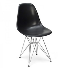 стул eams dsr  ( черный )