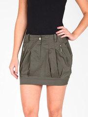 0528 юбка светло-коричневая