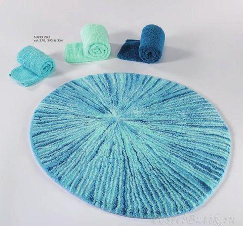Элитный коврик для ванной Krizia 370 голубой от Abyss & Habidecor Португалия