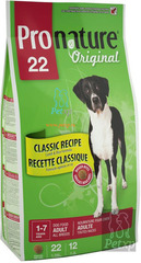 Pronature Original 22 Adult Large Breeds Lamb and Rice (large granules)