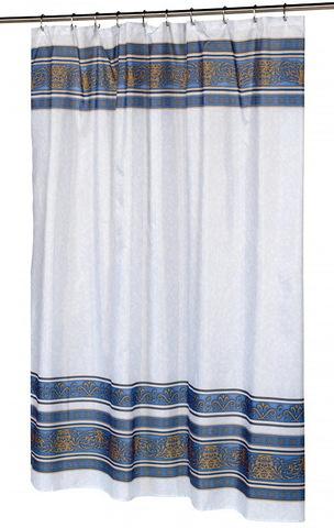 Элитная шторка для ванной Fleur 24 от Carnation Home Fashions