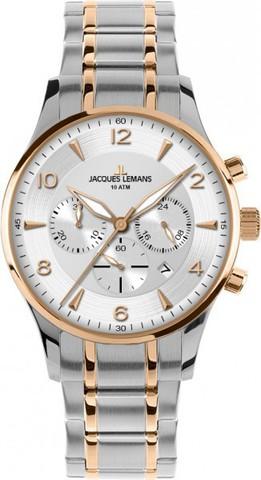 Купить Наручные часы Jacques Lemans 1-1654P по доступной цене