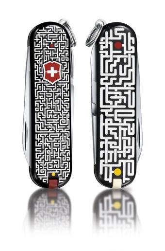 "Нож-брелок Victorinox Classic LE 2012, 58 мм, 7 функ, ""Labyrinth""  (0.6223.L1202)"
