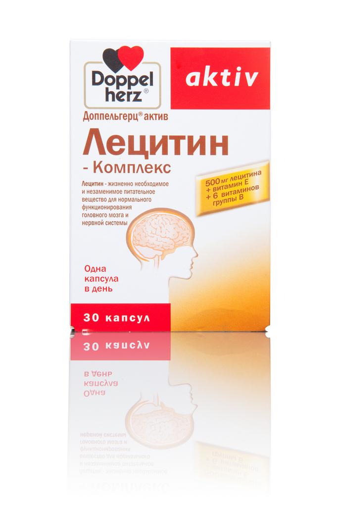 Доппельгерц Лецитин–Комплекс 30 капсул