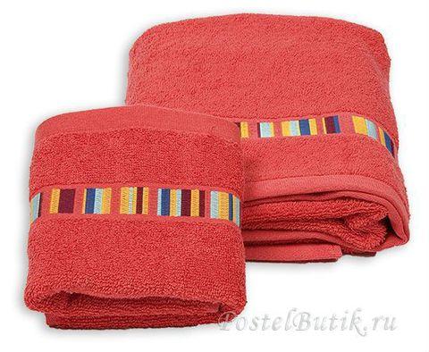 Полотенце 100х150 Caleffi Yupi красное