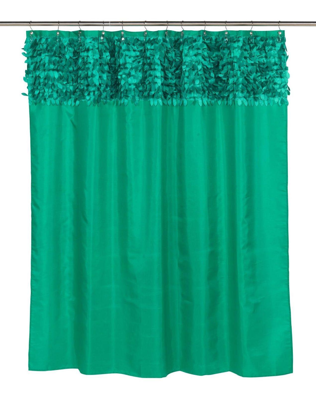 Шторки для ванной Шторка для ванной 178x183 Carnation Home Fashions Jasmine Emerald elitnaya-shtorka-dlya-vannoy-jasmine-emerald-ot-carnation-home-fashions-ssha-kitay.jpg