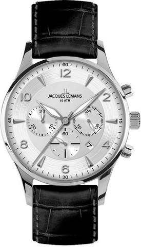 Купить Наручные часы Jacques Lemans 1-1654B по доступной цене
