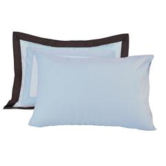 Постельное белье 2 спальное евро Casual Avenue Soho Frame голубое