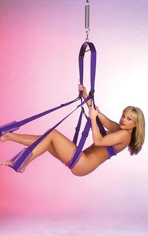 Фиолетовые секс-качели