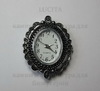 Основа для часов (цвет - античное серебро) 33х26,5х7 мм ()