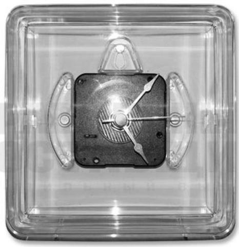 Акриловые часы, квадратные, с магнитом