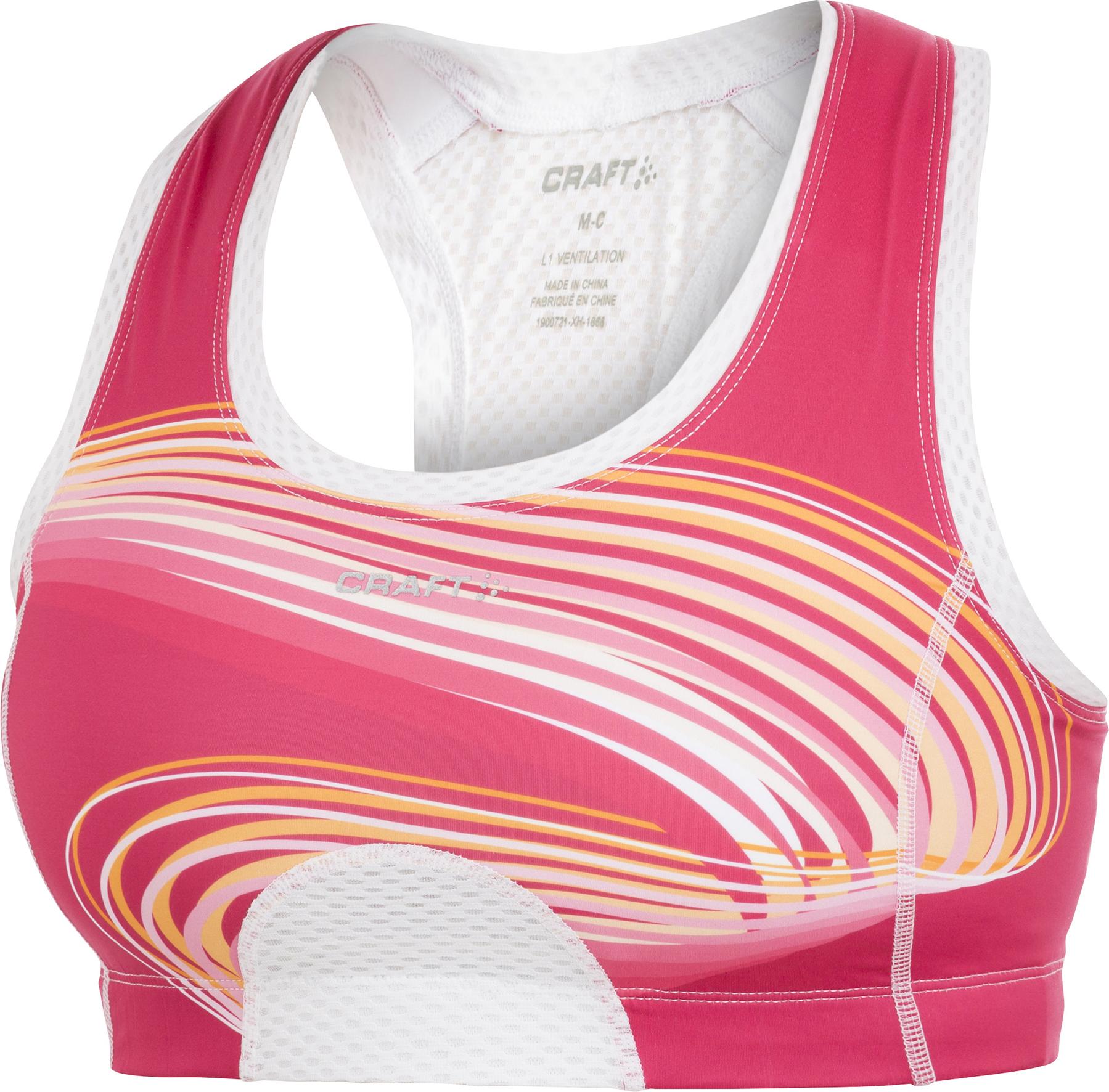 Бюстгальтер Craft Cool Sport Super Bra pink