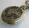 Часы на цепочке (цвет - античная бронза) 66x47Х14 мм