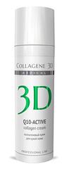 Крем-эксперт коллагеновый Q10-ACTIVE антивозрастной уход для сухой кожи, Medical Collagene 3D