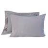 Постельное белье 2 спальное евро Casual Avenue Hampton дым-розовое