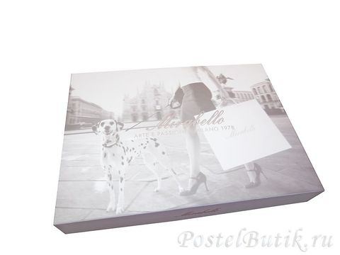 Скатерть 150x180 и 6 салфеток Mirabello Pottery белые