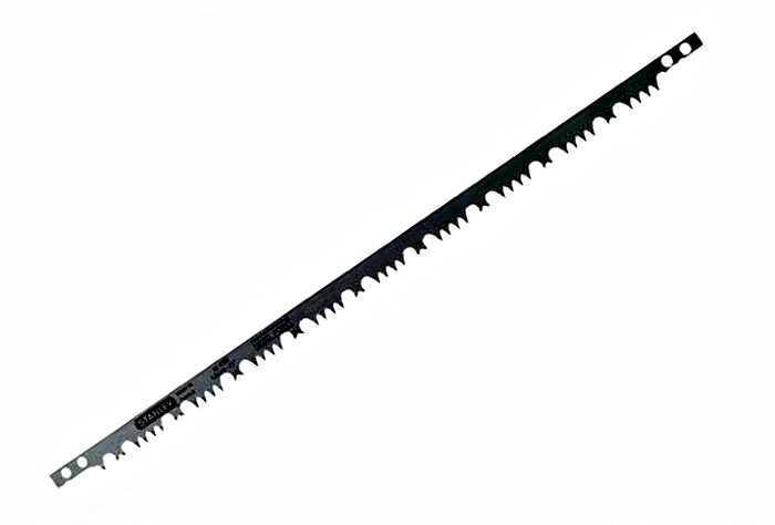 Полотно для лучковой пилы по сырому дереву 760мм Raker Tooth  Stanley 1-15-448