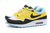 Кроссовки женские Nike Air Max 87 Black Yellow White