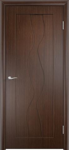 Дверь Верда Вираж, цвет венге, глухая