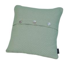 Элитная подушка декоративная Fresno светло-зеленая от Casual Avenue