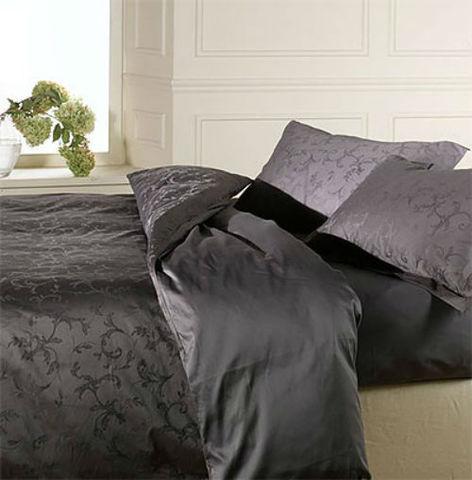 Постельное белье 2 спальное евро макси Caleffi Turandot серое