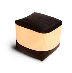 Пуфик куб Шоколадная паста