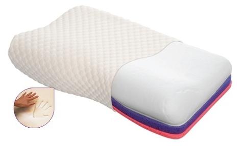 Ортопедическая подушка Тривес с эффектом памяти (с регулируемой высотой) ТОП-105